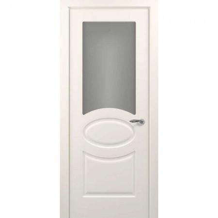"""Полотно дверное, Classic Эмаль NEW, """"Прованс Жемчужно-перламутровый Сатинато""""  СТ., 2000х800"""