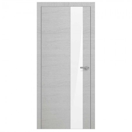 "Полотно дверное, Horizont ALUt, ""Н3 Окаша Сильвер White Soft ""  СТ., 2000х600"