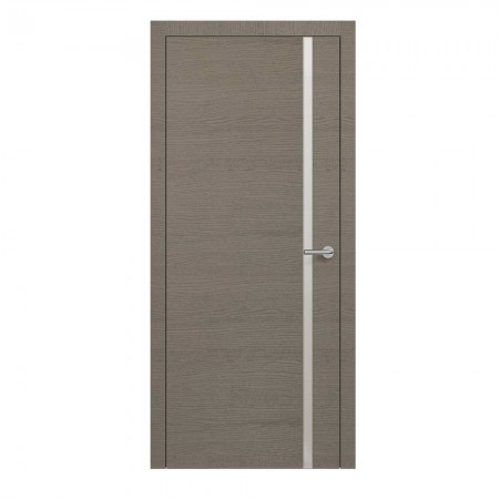"""Полотно дверное, Horizont, """"H1 Окаша Грей Мателак Silver Bronze """"  СТ., 2000х600"""