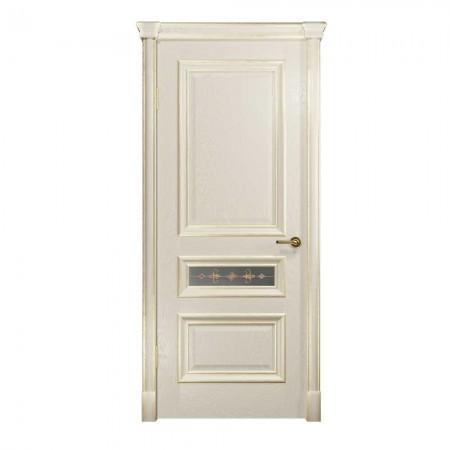 """Полотно дверное, VATIKAN,Аттика-2-3 """"Багет АКВА"""" СТ., 2000*600"""