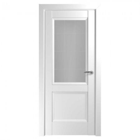 """Полотно дверное, Zadoor Classic Nuovo, """"Венеция Белый матовый Сатинато""""  СТ., 2000х800"""