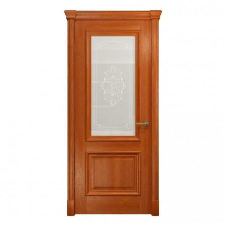 """Полотно дверное, VATIKAN, Аттика-1 Багет  """"Красное дерево""""  СТ., 2000*900"""