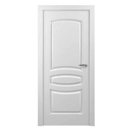 """Полотно дверное, Classic Эмаль NEW, """"Этюд Белый""""  Г., 2000х700"""