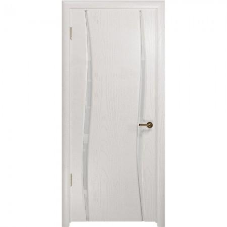 """Полотно дверное, СТАЙЛ, Вэла-2 """"Ясень белый"""" СТ.., 2000*600"""
