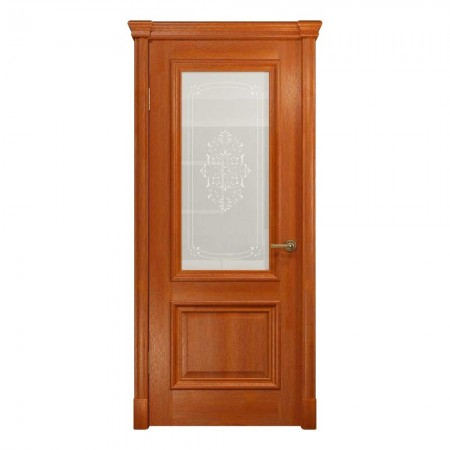 """Полотно дверное, VATIKAN, Аттика-1 Багет  """"Красное дерево""""  СТ., 2000*600"""