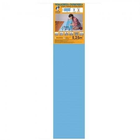 Подложка Солид, Синяя гармошка, 5мм