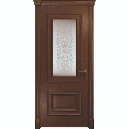 """Полотно дверное, VATIKAN, Аделия-1 Багет, """"Дуб Миндаль"""" СТ., 2000х900"""