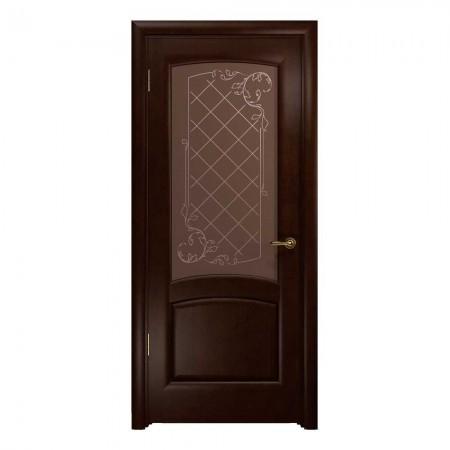 """Полотно дверное, ЭСТЕТИКА, """"Парма Махагон"""" СТ., 2000*800"""
