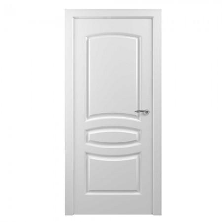 """Полотно дверное, Classic Эмаль NEW, """"Этюд Белый""""  Г., 2000х600"""