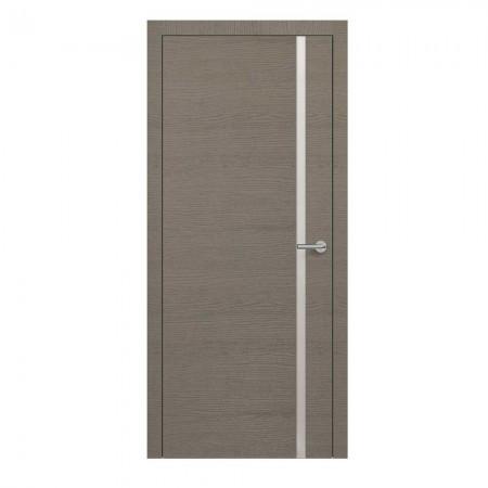 """Полотно дверное, Horizont, """"H1 Окаша Грей Мателак Silver Bronze """"  СТ., 2000х800"""